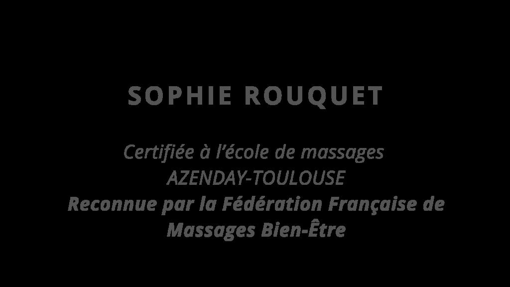 Sophie Rouquet, massage, sophrologie, bien être à Aubiac, Lot et garonne, Agen, Le passage